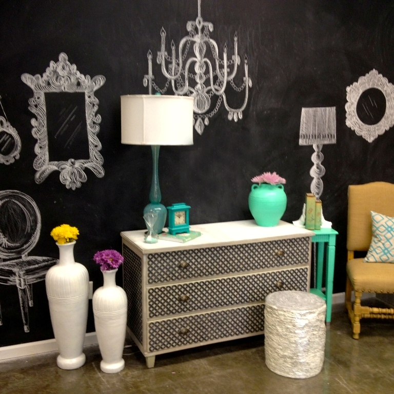 chalk-wall-completed Forecasting--> 25+ Hottest Trends in Home Decoration 2020