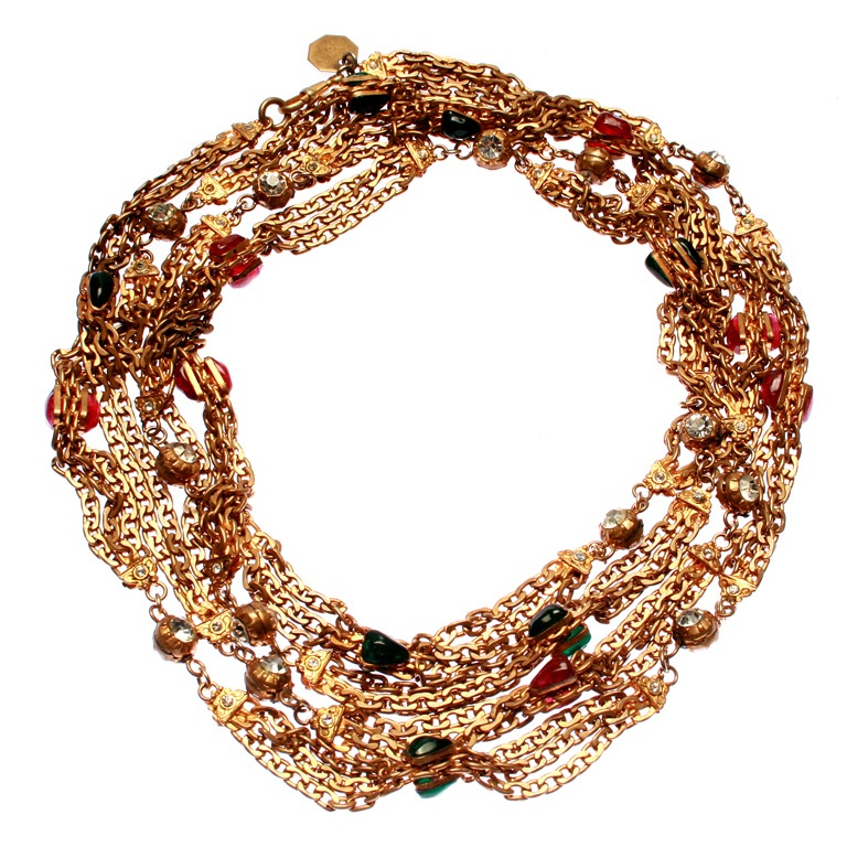 chanel_3_wrap_necklace1 Glass Beads for Creating Romantic & Fashionable Jewelry Pieces