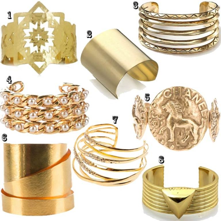 chunky-cuff Hottest Christmas Jewelry Trends 2015