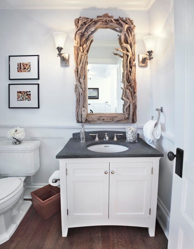 coastal-bathroom Forecasting--> 25+ Hottest Trends in Home Decoration 2020