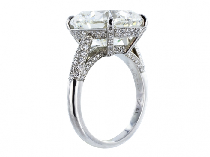 cushion-cut-diamond-solitaire-ring-stdibs-241187 Cushion Cut Engagement Rings for Beautifying Her Finger