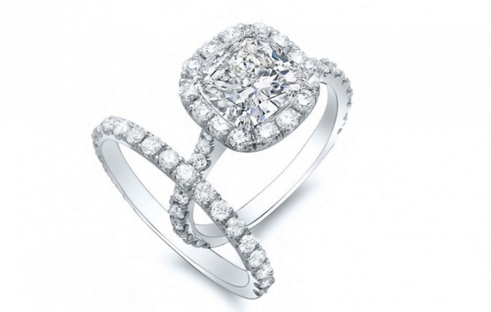 cushion-cut-halo-engagement-rings-prices-3 Cushion Cut Engagement Rings for Beautifying Her Finger