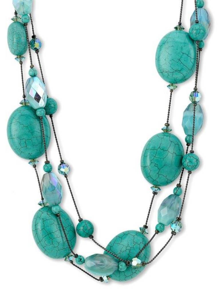 "dabby-reid-necklace Turquoise jewelry "" The Stone of the Sky & Earth"""