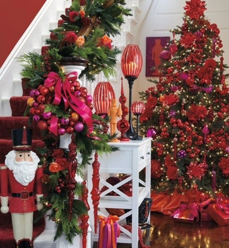 decorating-christmas-tree-red-and-gold__ 24 Latest & Hottest Christmas Trends for 2019