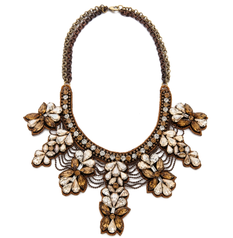 deepa-gurnani-crystal-collar-necklace-1 Top 7 Types of Necklace Clasps