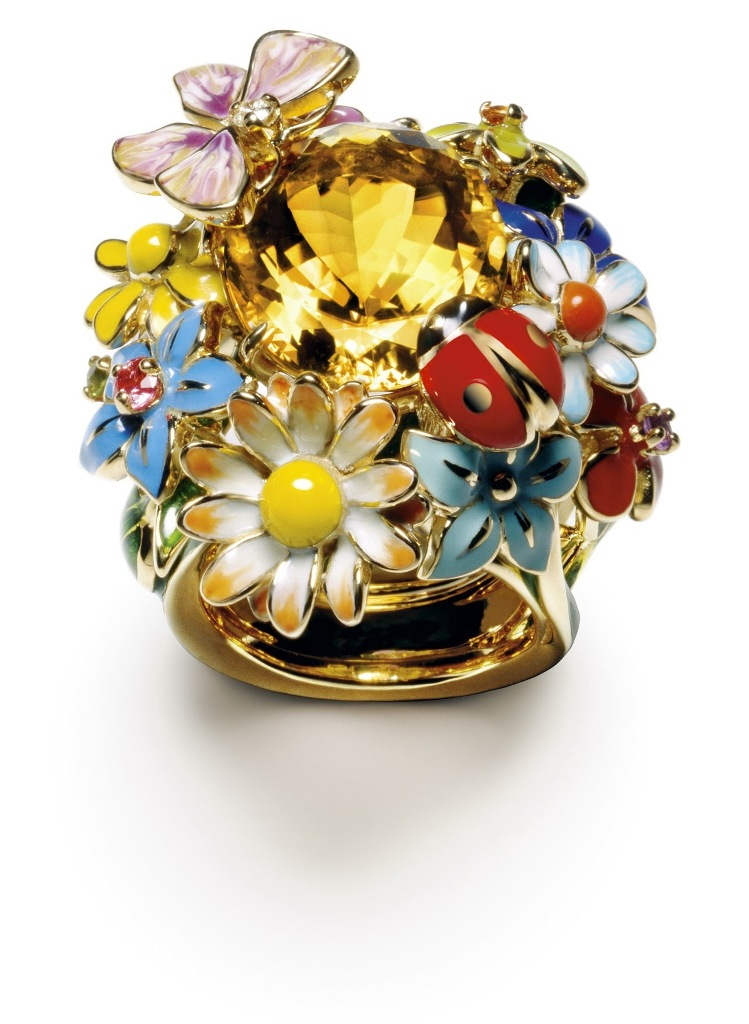 dior-diorette-yellow-gold-and-citrine-ring The Meanings of Wearing Rings on Each Finger