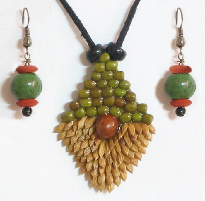 eco-friendly-jewelry-AU67_l Create Fascinating & Dazzling Jewelry Pieces Using Wooden Beads