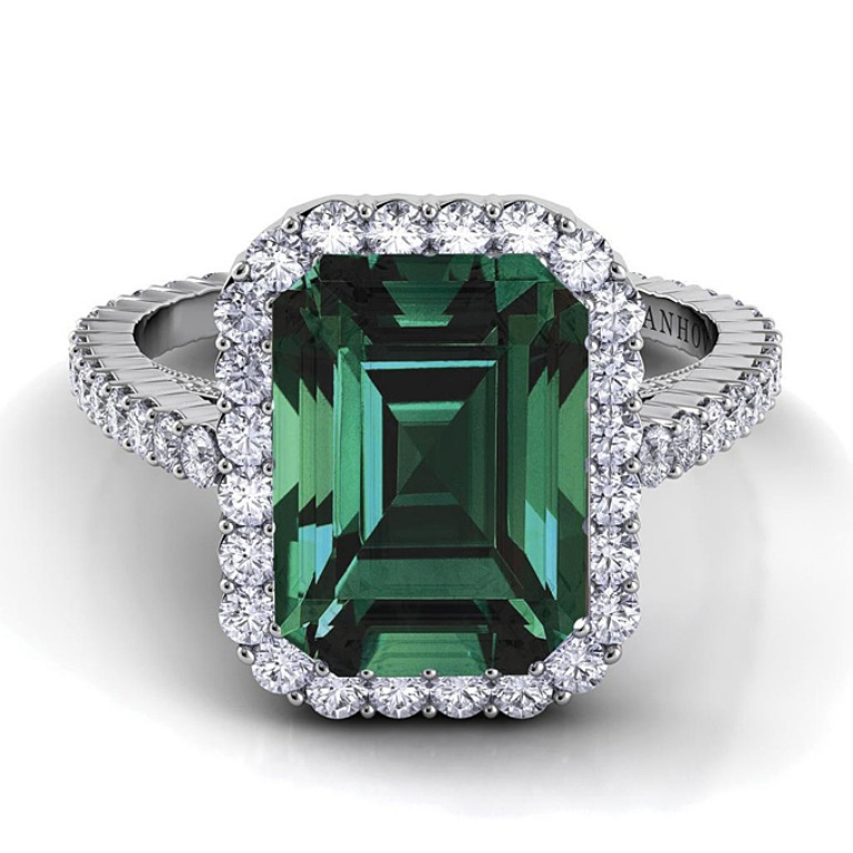 emerald-engagement-rings-Danhov-XE101-EM-EM-58 Top 10 Non-Diamond Engagement Ring Types for a More Unique Proposal