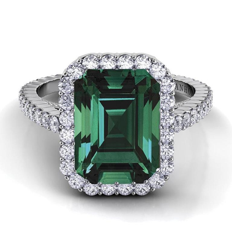 emerald-engagement-rings-Danhov-XE101-EM-EM-58 Top 10 Non-Diamond Engagement Ring Types for a More Unique Proposal
