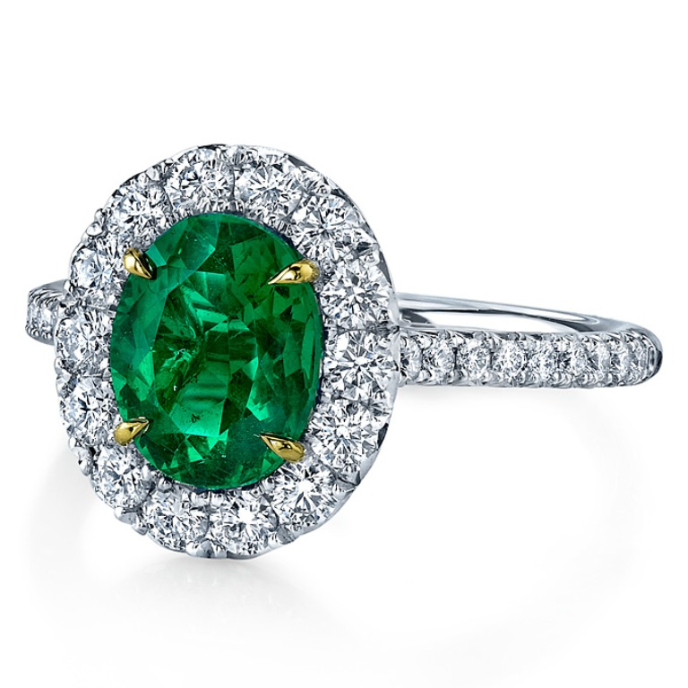 emerald-engagement-rings-Omi-Gems-15 Top 10 Non-Diamond Engagement Ring Types for a More Unique Proposal