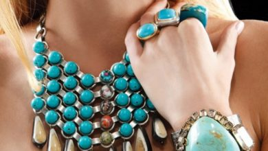 "Photo of Turquoise jewelry "" The Stone of the Sky & Earth"""