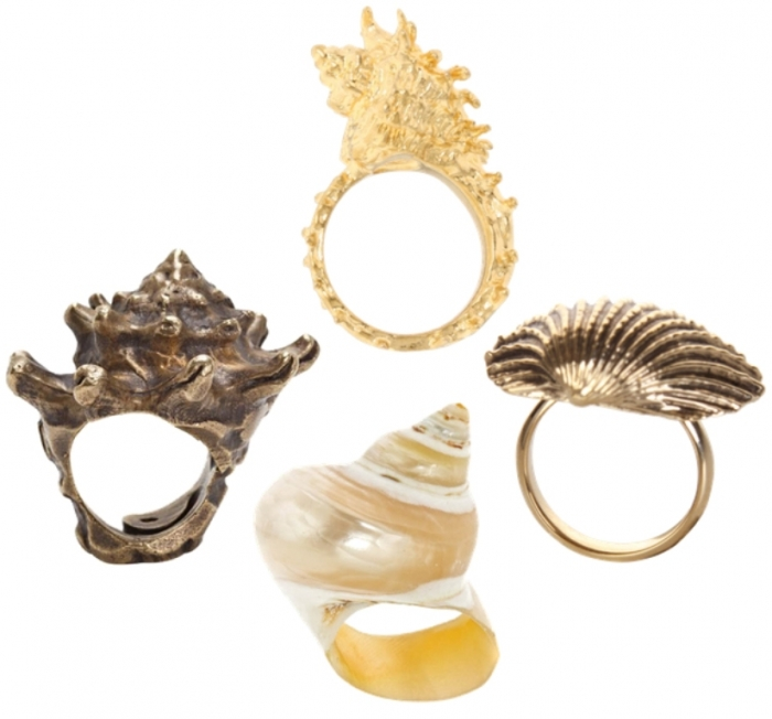 fashion-jewelry-trend-seashells Seashell Jewelry as a Natural Gift