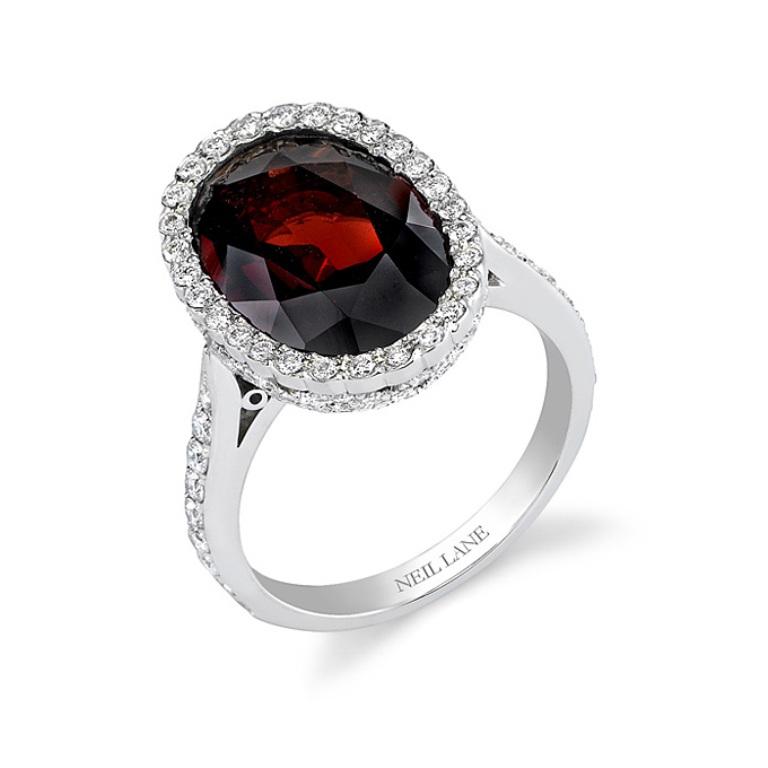 garnet-engagement-rings-Neil-Lane-sean01259-341 Do You Know Your Zodiac Gemstone?