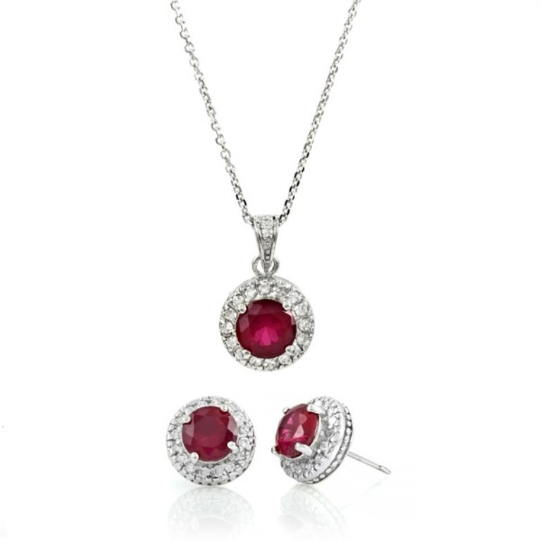 gift-set-katie-holmes-inspired-ruby-red-cz-jewelry-set How to Find Pure Ruby