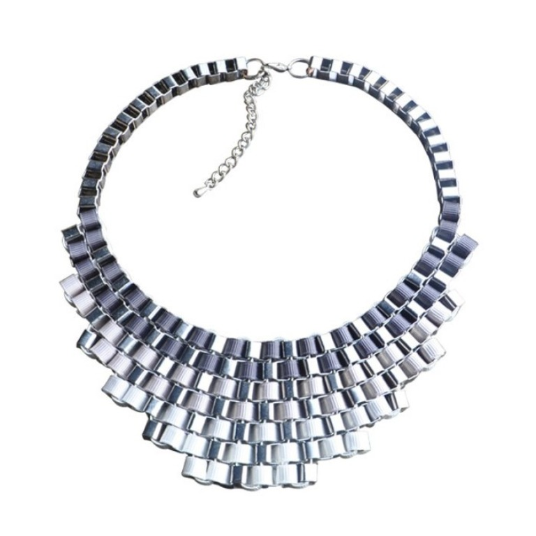 gradient-silk-ribbon-braided-necklace-necklaces-fashion-jewelry Get a Royal & Fashionable Look with Costume Jewelry
