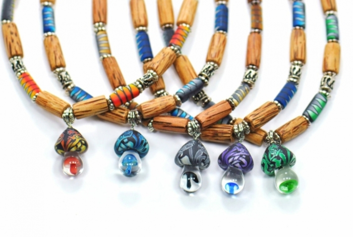 hf-232-fgm Create Fascinating & Dazzling Jewelry Pieces Using Wooden Beads