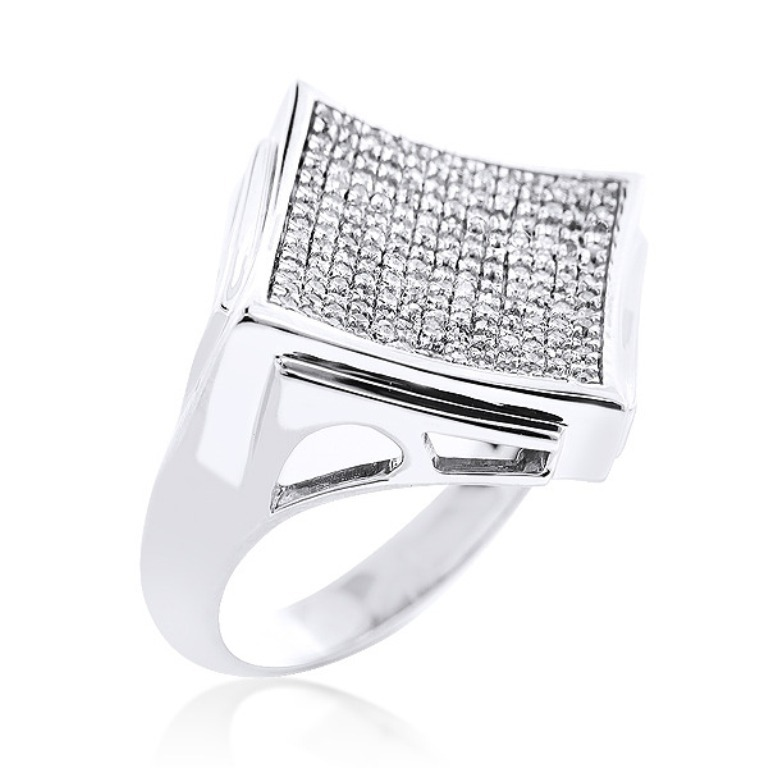 hip-hop-jewelry-mens-diamond-ring-062ct-10k-gold_2 Hip Hop Jewelry to Attract More Attention