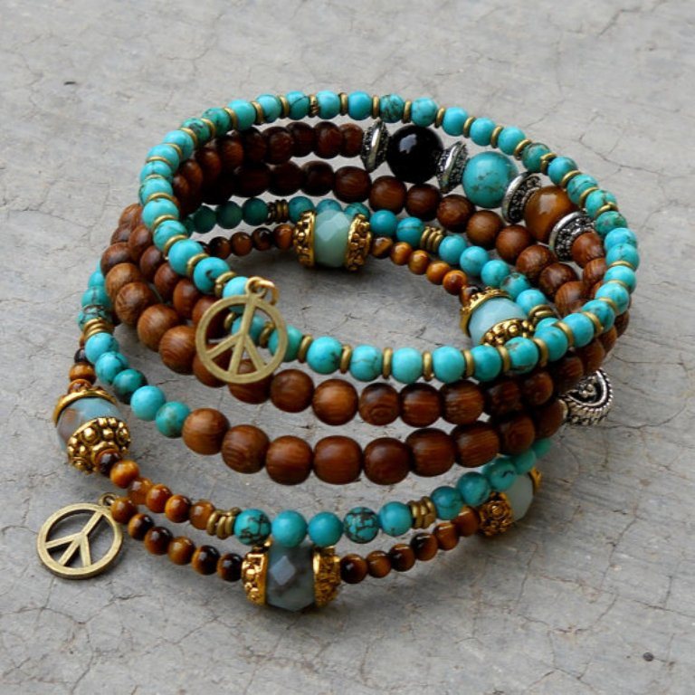 il_570xN.307305674 Create Fascinating & Dazzling Jewelry Pieces Using Wooden Beads