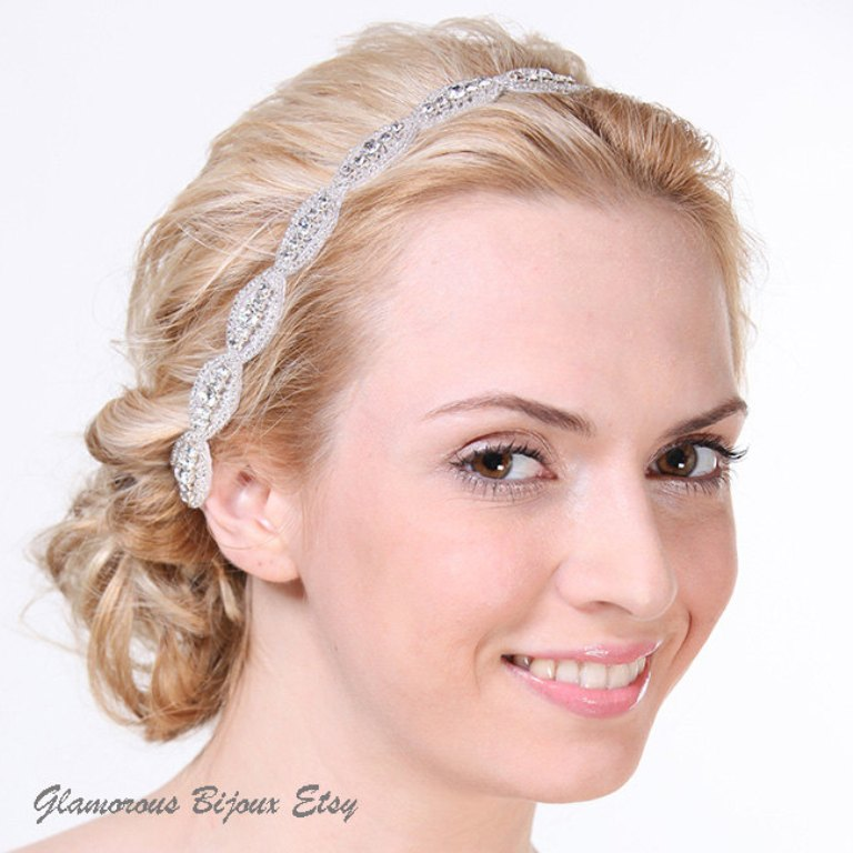 """il_fullxfull.279636513 """"Wedding Headbands"""" The Best Choice for Brides, Why?!"""