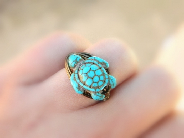 """il_fullxfull.413984917_4tvg Turquoise jewelry """" The Stone of the Sky & Earth"""""""