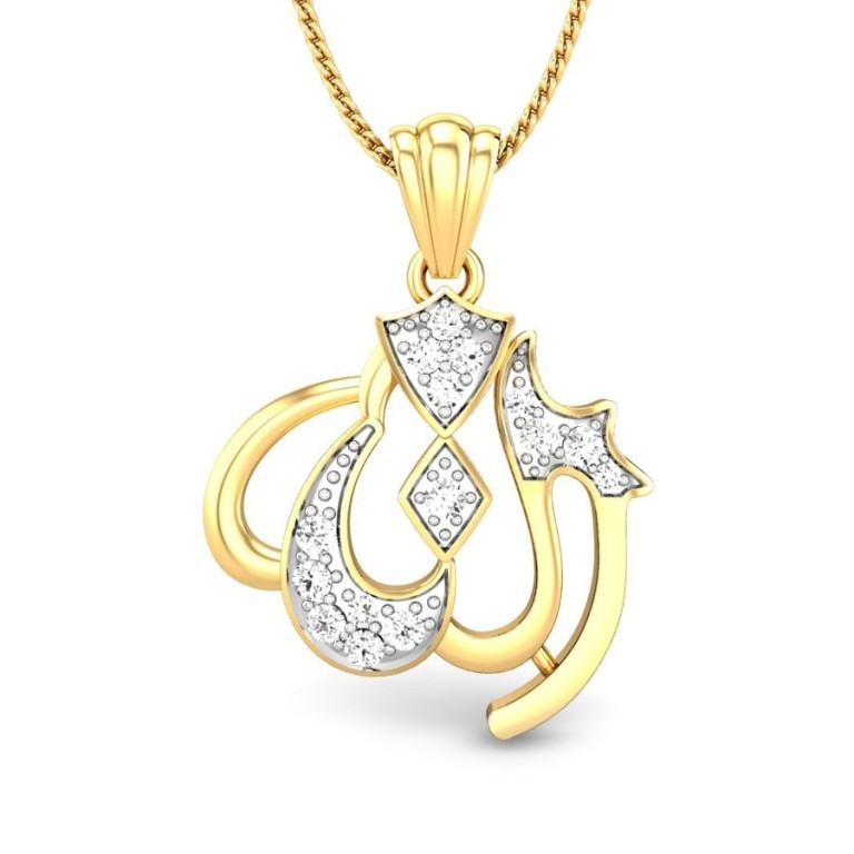 islam_diamond_pendant Exclusive 6 Facts about Religious Jewelry?