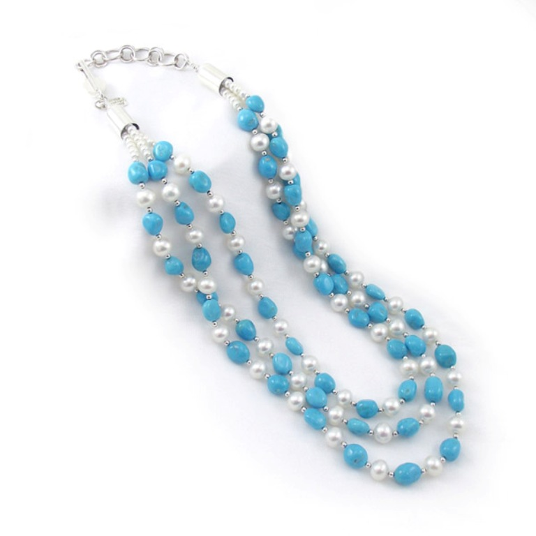 "jewelry-western-necklace-117505p Turquoise jewelry "" The Stone of the Sky & Earth"""