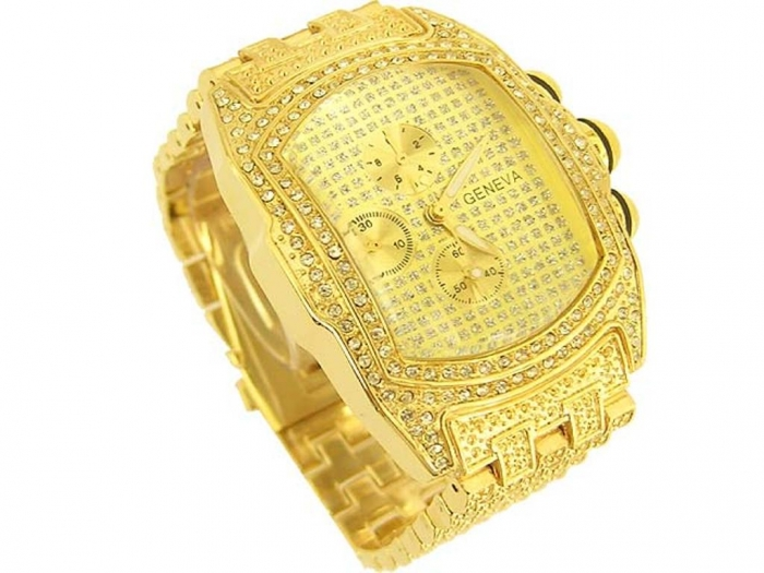 lupahgoldwatch Hip Hop Jewelry to Attract More Attention
