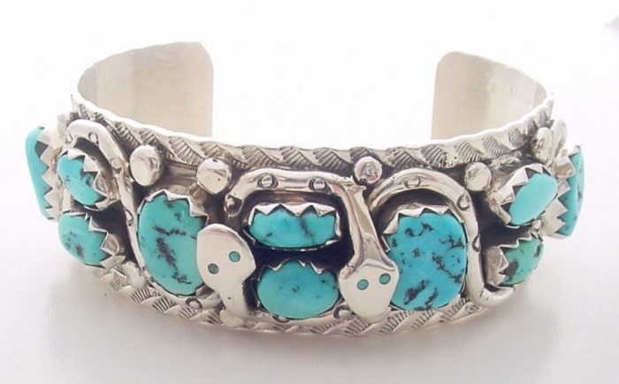 """mb1228t Turquoise jewelry """" The Stone of the Sky & Earth"""""""