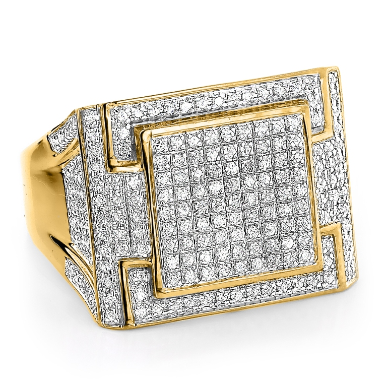 mens-diamond-ring-106ct-10k-yellow-gold-white-gold-or-rose-gold_1 Men's Diamond Rings for More Luxury & Elegance