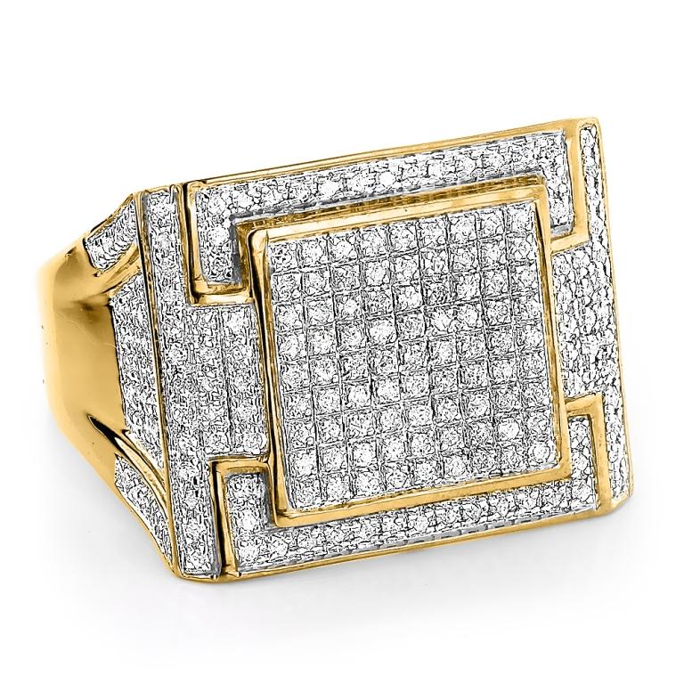 mens-diamond-ring-106ct-10k-yellow-gold-white-gold-or-rose-gold_1 Men's Diamond Rings for More Luxury & Elegance