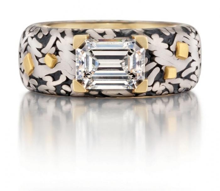 mens_wabisabi_diamond_ring Men's Diamond Rings for More Luxury & Elegance