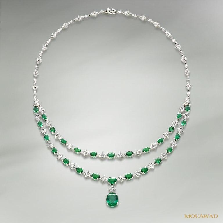 mouawad-diamond-emerald-neckalace-jun24 Do You Know Your Zodiac Gemstone?