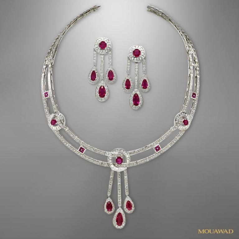 mouawad-diamond-necklace-earrings-sep17 Do You Know Your Zodiac Gemstone?