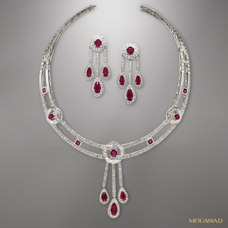 mouawad-diamond-necklace-earrings-sep17 Do You Know Your Zodiac Gemstone?