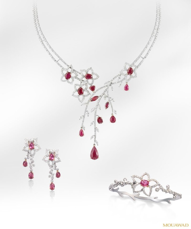 mouawad-diamond-ruby-jewelry-apr02 How to Find Pure Ruby