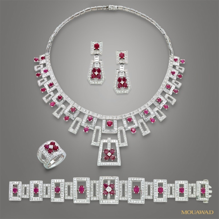 mouawad-diamond-ruby-jewelry-oct10 How to Find Pure Ruby