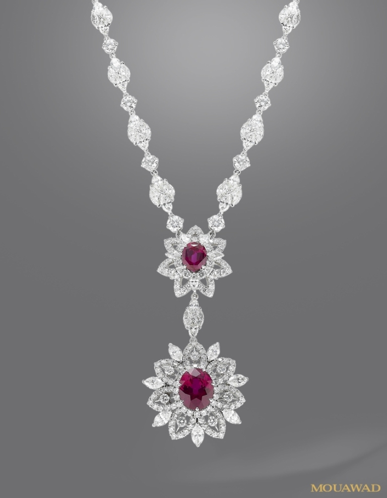 mouawad-diamond-ruby-necklace-apr23 How to Find Pure Ruby