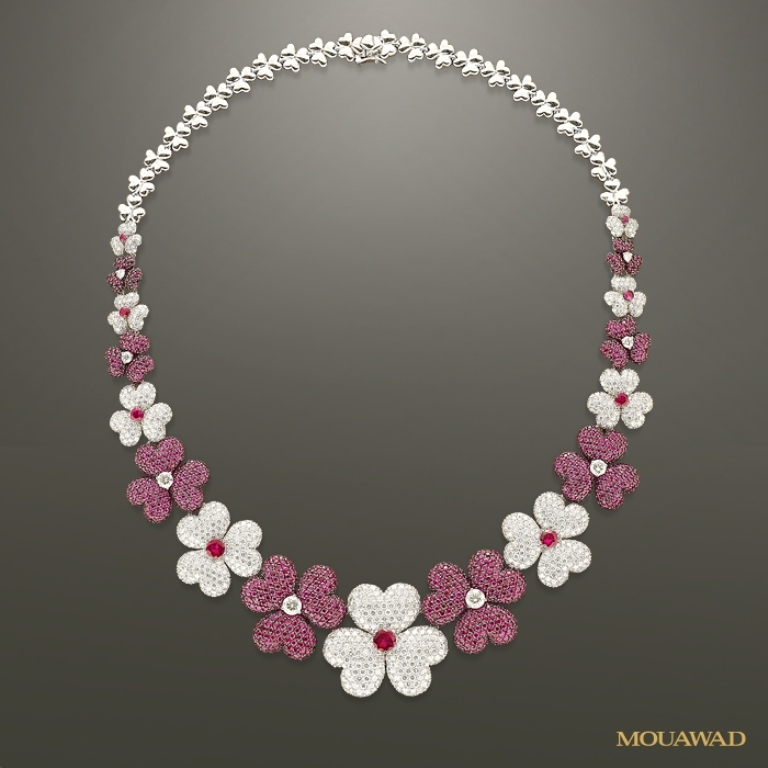 mouawad-diamond-ruby-necklace-may19 How to Find Pure Ruby