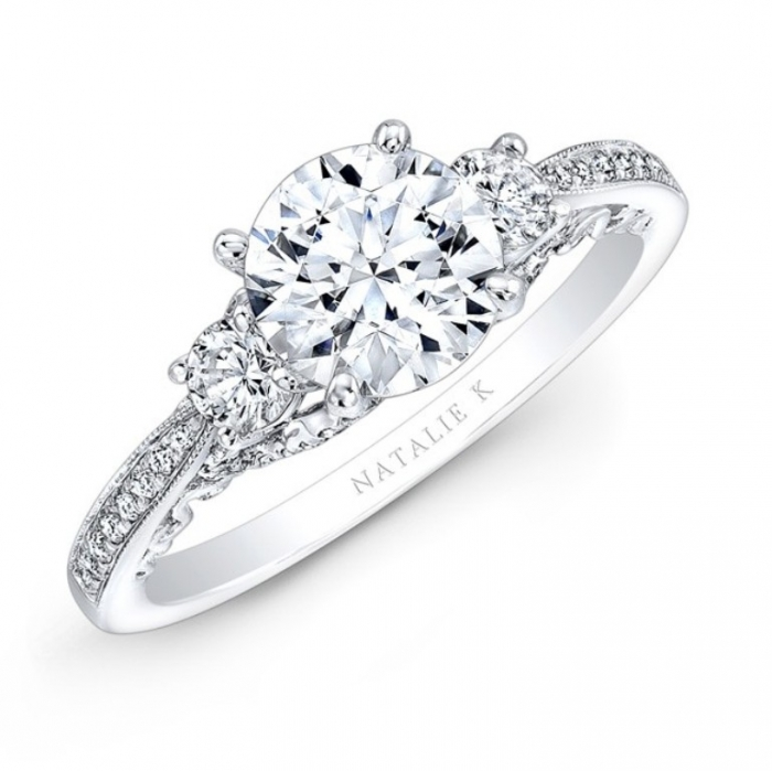 nk29181-w_three_qrtr_3_1 How to Select the Best Engagement Ring