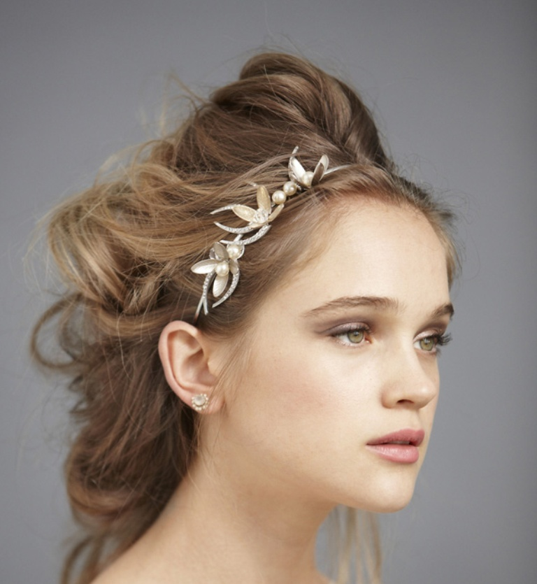 "olive-bridal-branch-headband-jpg ""Wedding Headbands"" The Best Choice for Brides, Why?!"