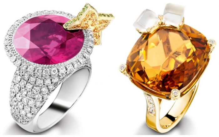 piaget-cocktail-rings 10 CRITICAL Differences between 10K, 14K, 18K & 24K Gold Jewelry?