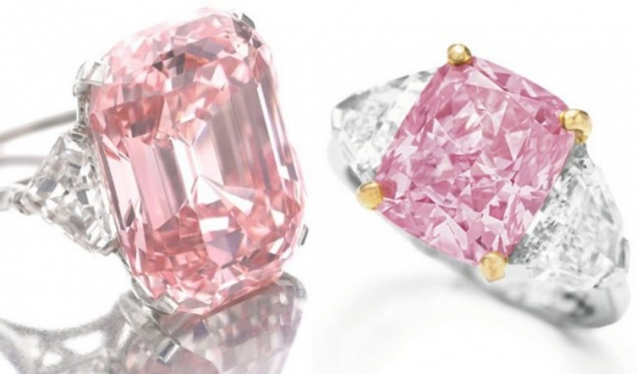 pink-diamond-wedding-ring Most Famous Romantic & Unique Jewelry with Pink Diamonds