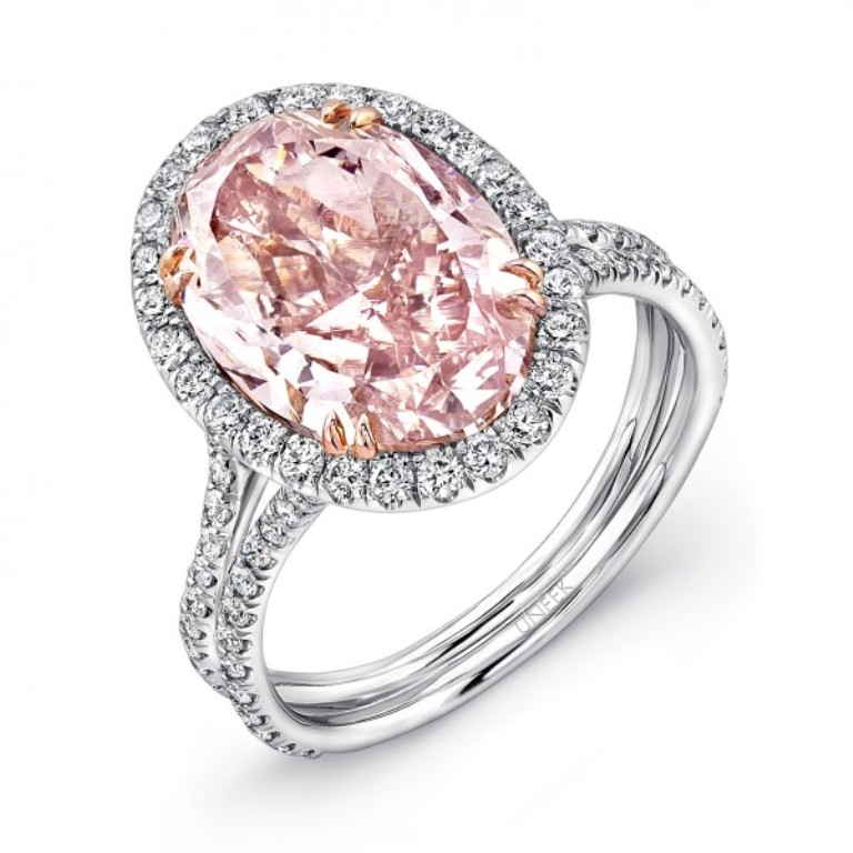 pink-diamond-wedding-rings-uk Most Famous Romantic & Unique Jewelry with Pink Diamonds
