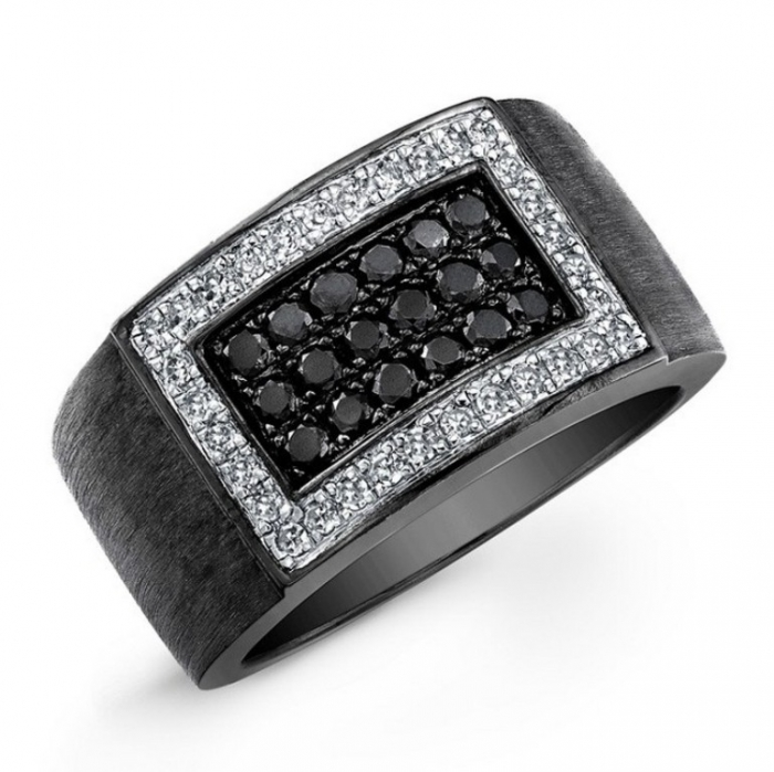 popular-mens-wedding-rings-with-diamonds-2014 Men's Diamond Rings for More Luxury & Elegance