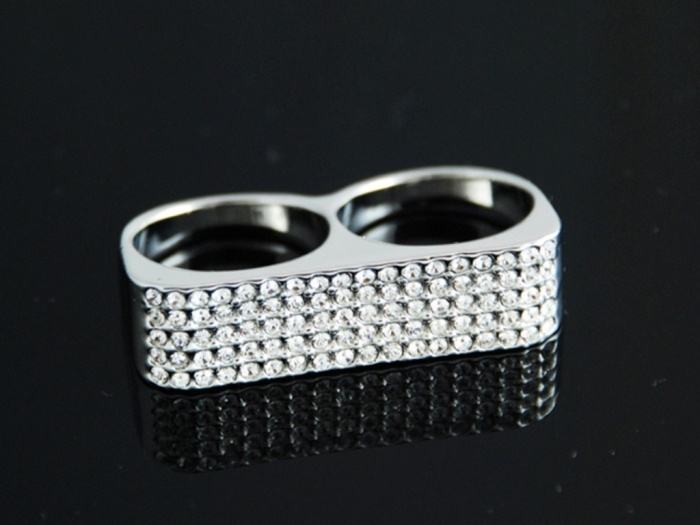 r16_crystal_double_finger_joint_ring_s_21 Double Finger Rings for Elegant Hands