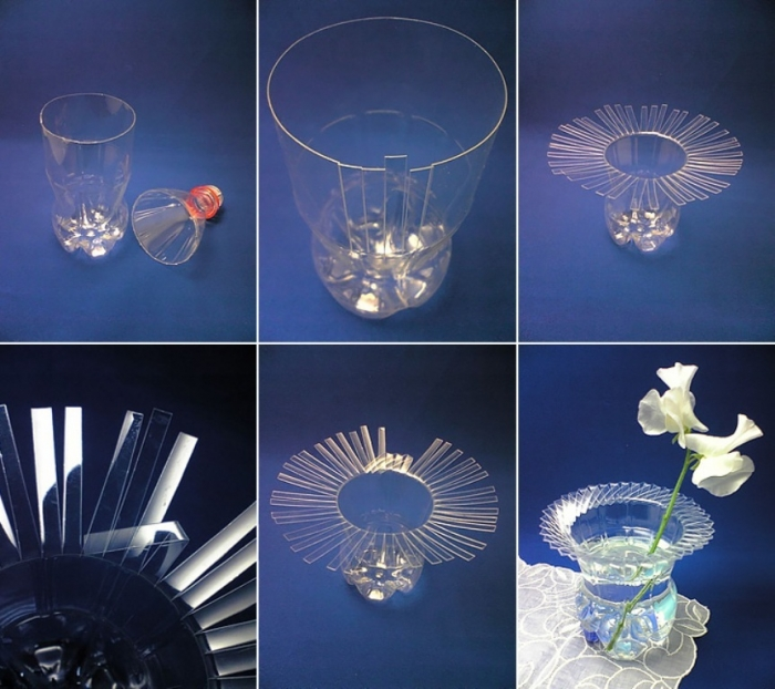recycled-plastic-bottle-vase-collage Forecasting--> 25+ Hottest Trends in Home Decoration 2020