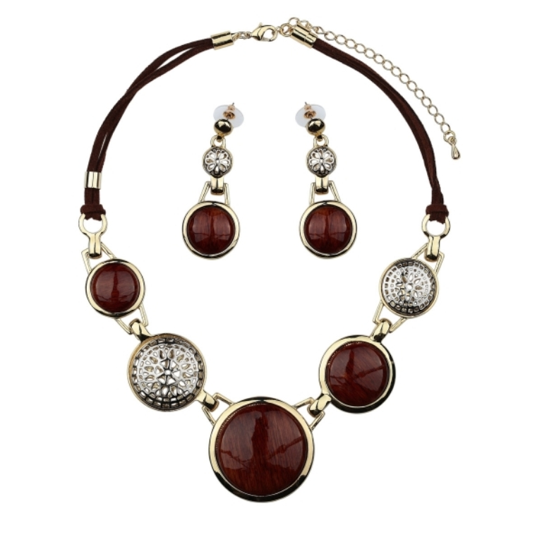 round-beads-jewelry-set-bead-jewelry-set-wood-bead-jewelry-set-filigree-bead-jewelry-set-round-bead-jewelry-set-cabochon-jewelry-set-okajewelry.com-652928 Create Fascinating & Dazzling Jewelry Pieces Using Wooden Beads
