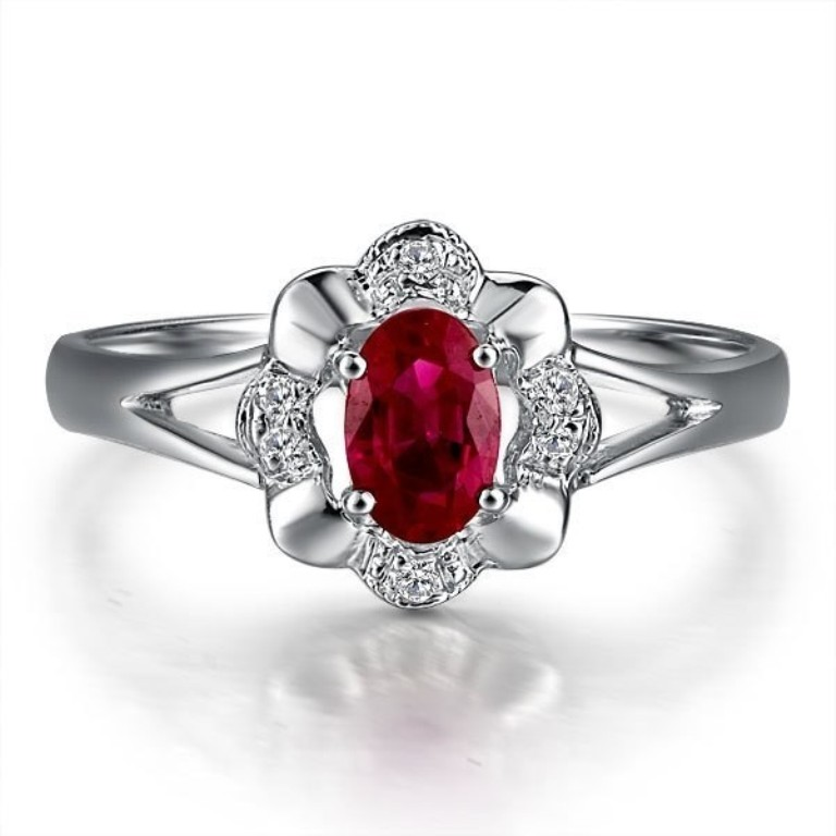 ruby-engagement-rings-uk-9 Top 10 Non-Diamond Engagement Ring Types for a More Unique Proposal
