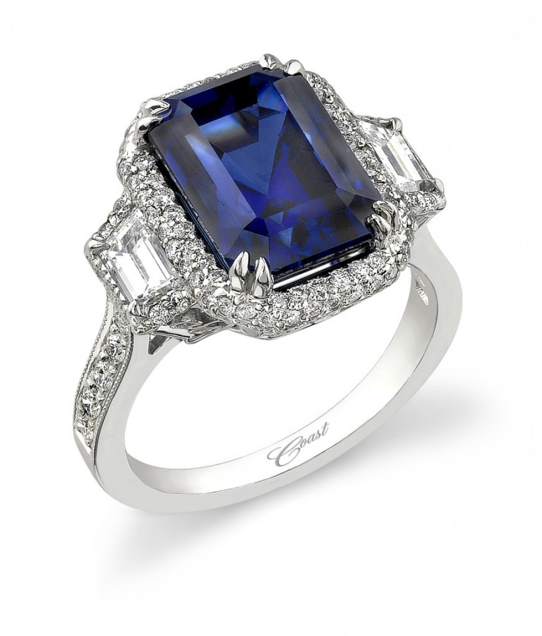 sapphire-engagement-ring Top 10 Non-Diamond Engagement Ring Types for a More Unique Proposal