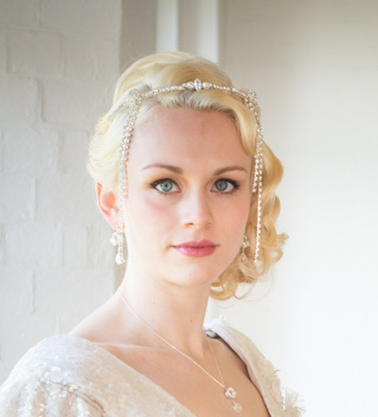 """save-20-on-bridal-accessories-at-chez-bec-this-april-Sophie-Deco-Headband-128-Chez-Bec """"Wedding Headbands"""" The Best Choice for Brides, Why?!"""